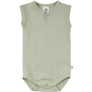 Kurzarmbody aus Biobaumwolle - Müsli by Green Cotton