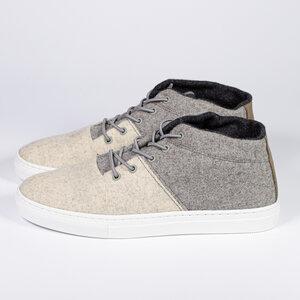 Schuwollsneaker aus reiner Schurwolle - baabuk