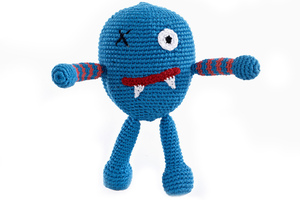 Monster Rasseln - Pebble