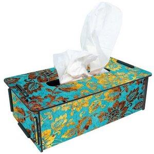 Tissue-Box Tücherbox Taschentuchbox Kosmetiktücherbox Box Holz ver. Motive - Werkhaus GmbH