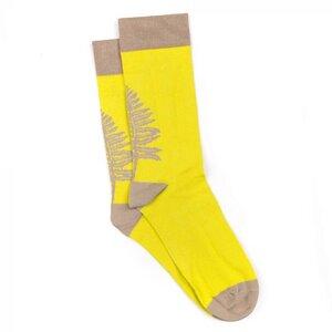 Fernster Socken Gelb - bleed