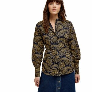 "Bluse ""V&A Rosa Print Shirt"" - People Tree"