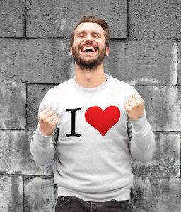 Let´s love - Sweatshirt - Iksi