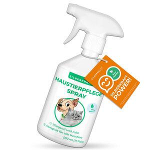 Haustierpflege Spray für Hunde, Katzen, Nagetiere und andere Haustiere - Silberkraft