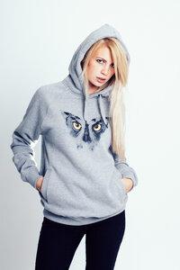 Butterfly Owl - Hoodie  - RedStigma Clothing