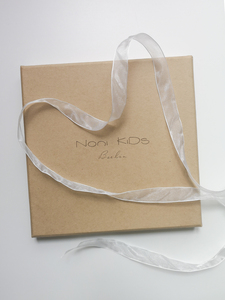 NoniKids Geschenkebox *Wagenkette & Greifling Elefant rosa* - NoniKids Berlin