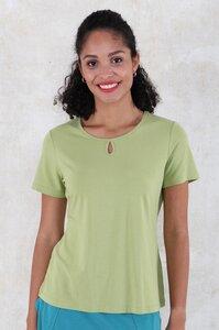 """T-Shirt aus Bambus-Fasern und Bio-Baumwolle """"03211-0006 Odile solid"""" - Lykka du Nord"""