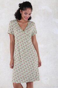 """Kleid aus Bambus-Faser und Bio-Baumwolle """"03211-0008 Chloe art"""" - Lykka du Nord"""