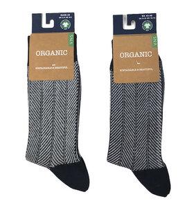 Zickzackmuster-Socken - Bulus organic Textilien GmbH