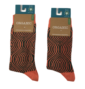 Socken mit Zwiebelmuster - Bulus organic Textilien GmbH