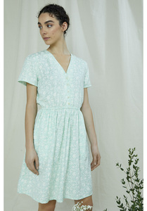 Tencel Kleid - Laura Silhouette Floral Dress - People Tree