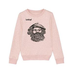 Bedruckter Kinder Sweater aus Bio-Baumwolle VIETNAMESE - karlskopf