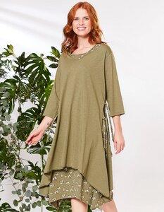 Jersey-Doppelkleid aus 100% Bio-Baumwolle - Deerberg