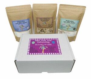Das besondere Geburtstagseschenk für kreative Kinder von Natuurma mit Geschenkbox, Bastelset - Natuurma©