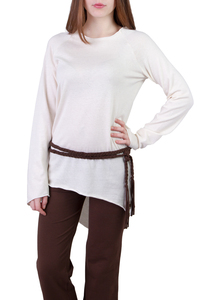 Shirt Jasmin off white - Ajna