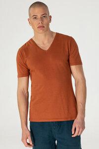 Hanf V-Ausschnitt T-Shirt - Primo - MÁ Hemp Wear