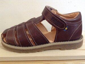 Sandale MIMER dunkelbraun - KAVAT