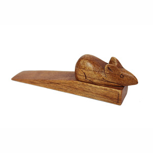 Türstopper aus Holz Maus - Mitienda Shop