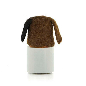 Eierwärmer Tiermotiv Hund aus Filz - Mitienda Shop