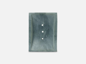 Massive Seifenschale aus Speckstein // Grau - FOLKDAYS