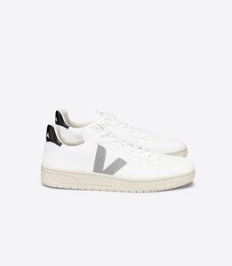 Sneaker Herren Vegan - V-10 CWL - White Oxford-Grey Black - Veja