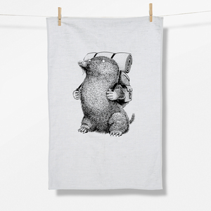 Geschirrtuch Animal Mole GOTS - GreenBomb