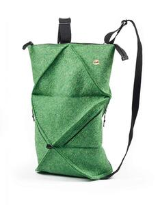 Origami Rucksack - Faltbarer Filzrucksack aus 100% Wolle - WoolFit
