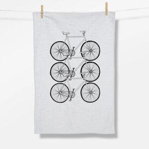 Geschirrtuch Bike Trio (GOTS) - GreenBomb