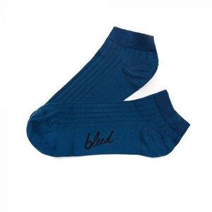 Tennis Lyocell (TENCEL) Sneaker Socken Blau - bleed