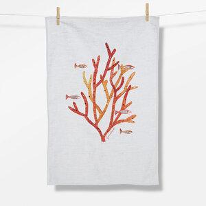 Geschirrtuch Plants Coral Life (GOTS) - GreenBomb