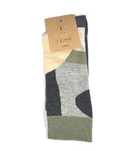 Socken mit eingestricktem Muster - UKAI