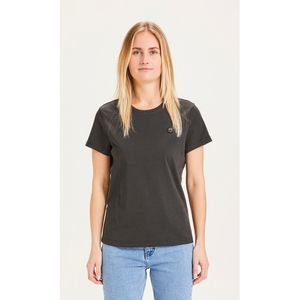 T-Shirt ROSA mit Eulen-Badge - KnowledgeCotton Apparel