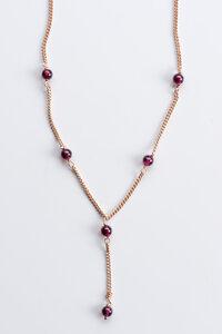 Vintage Unikat: Collier Granatkugeln, Roségold - MishMish by WearPositive