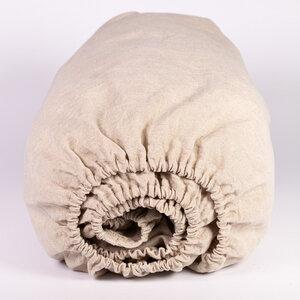 Leinen-Bettlaken, Spannbettlaken, Leintuch aus 100% Bioleinen - nahtur-design