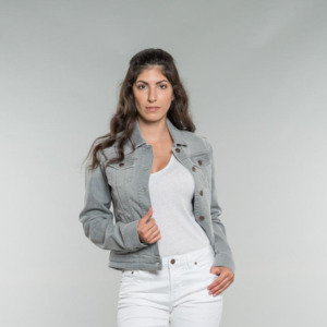 Svala | Denim Jacket | Greywash - Feuervogl