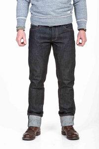 Herren Jeans Ungewaschen Raw Selvedge Kuroki Bio Baumwolle - Blaumann-Jeanshosen