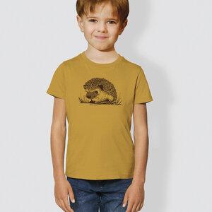 "Kinder T-Shirt, ""Igel"" - little kiwi"
