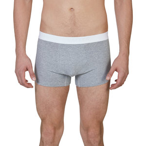 Männer Trunk Short 'Tight Tim' Grau Melange - VATTER
