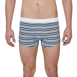 "Trunk Short ""Tight Tim"" Grau/Schwarz/Blau Gestreift - VATTER"