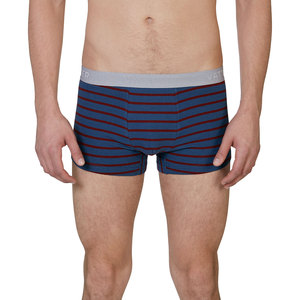 Trunk Short 'Tight Tim' Blau/Rot Gestreift - VATTER