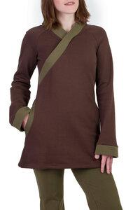 Pullover Jasper braun-olive grün - Ajna