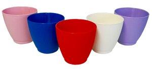 Trinkbecher Tree Cups 0,25 Liter - 5er Set (fünf verschiedene Farben) - NOWASTE