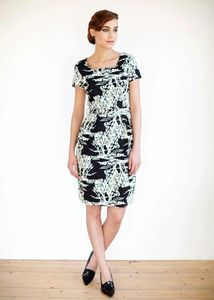 Arya Tree Print Dress - People Tree