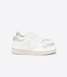 Sneaker Damen Vegan - V-10 CWL - FULL WHITE NATURAL - Veja