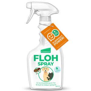 Silberkraft Floh-Spray 500 ml für Hund, Katze und andere Haustiere - Silberkraft