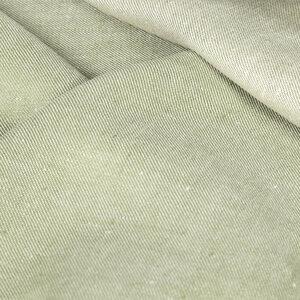 Leinengewebe Denim in Köperbindung aus 100% Bioleinen - Vieböck