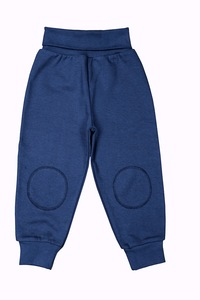 Baby Sweathose blau Bio-Baumwolle - People Wear Organic