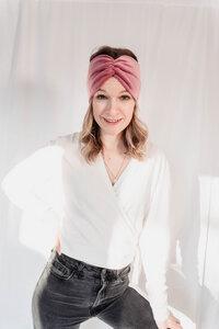Nicki-Stirnband RUFFLE - Manufaktur Nicola Marisa
