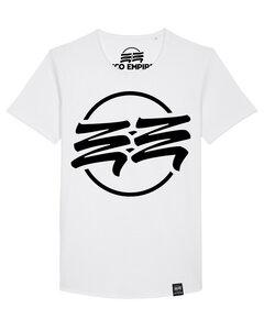Eco Empire Crewlogo 01 Big | Long Unisex T-Shirt - Eco Empire Clothing