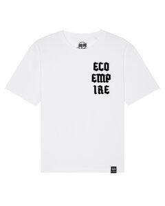 Eco Empire Crew Logo 04 | Oversized Unisex T-Shirt - Eco Empire Clothing